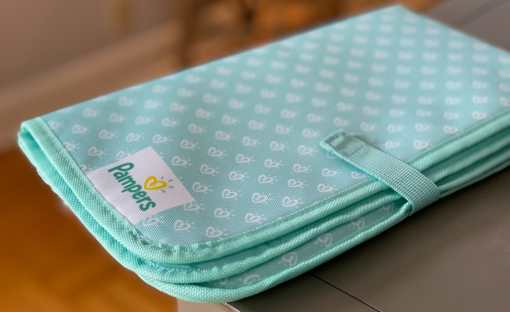 pampers diaper changing mat