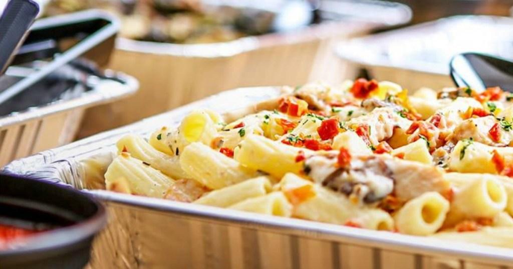 Macaroni Grill pasta container