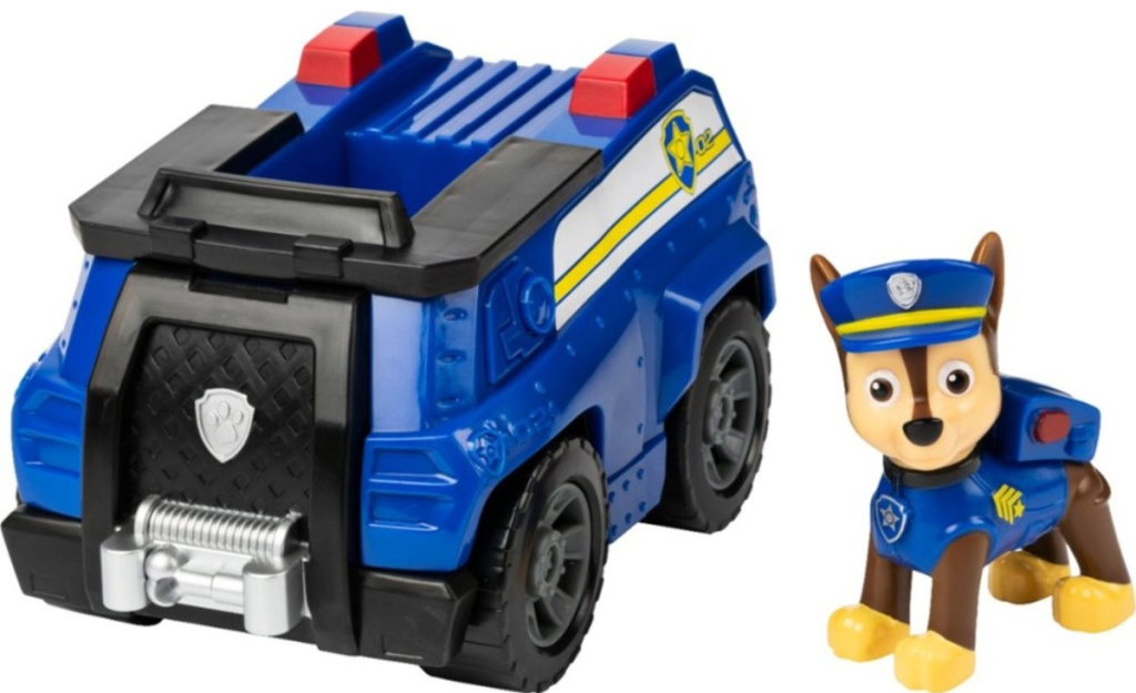 paw patrol car and figure