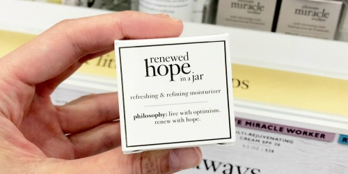 40% Off Philosophy Products + 2 Free Samples