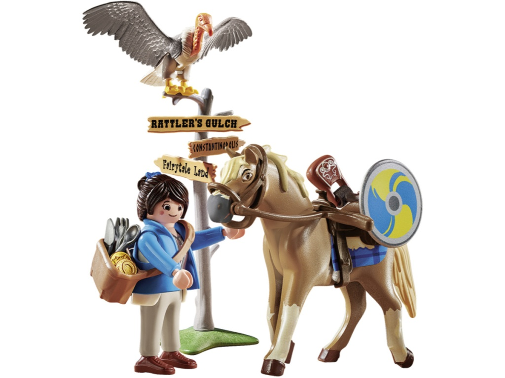 playmobil horse and figures