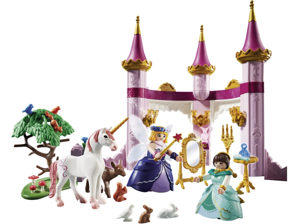 playmobil fairy castle and figures