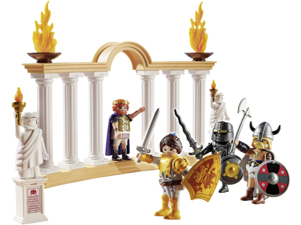 playmobil Colosseum and figures