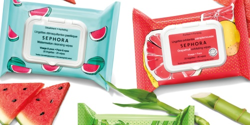 Sephora Cleansing & Exfoliating Wipes 10-Pack ONLY $2 Shipped