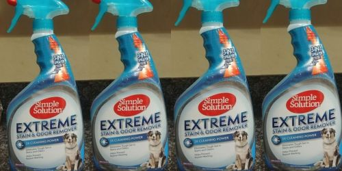 Simple Solution Extreme Stain & Odor Remover Just $4.85 Shipped on Amazon