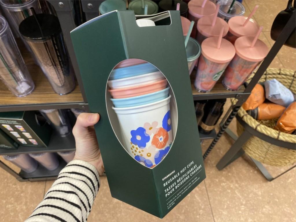 starbucks 6 pack reusable cups