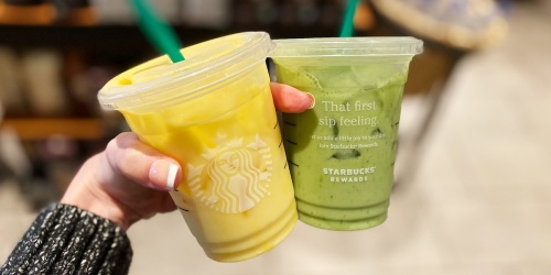 3 New Starbucks Drinks Available for Spring | Iced Pineapple Matcha & More