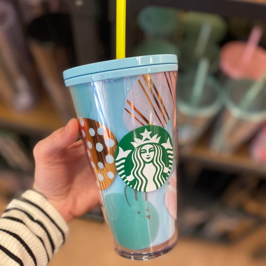 starbucks spring tumbler with straw
