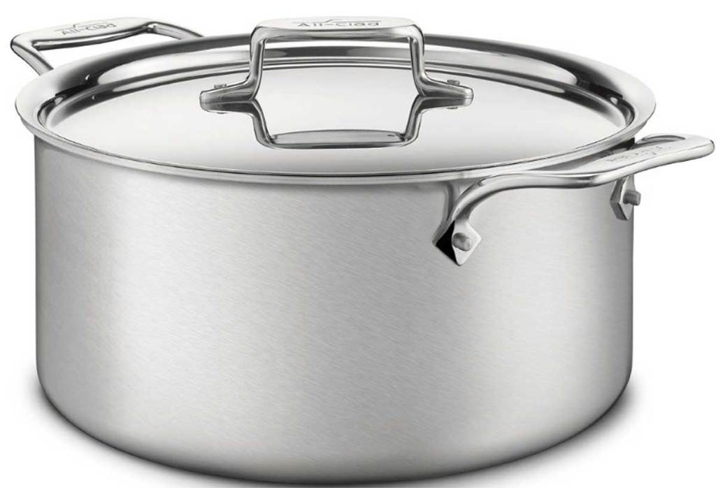 All-Clad Brushed Stainless BD5 8t Stock Pot