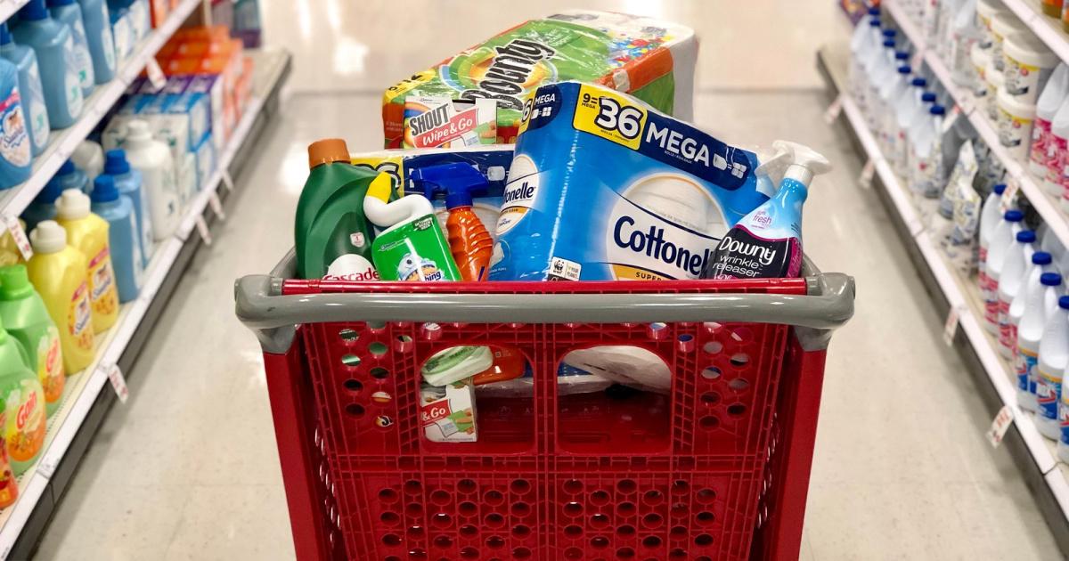 target household essentials n cart