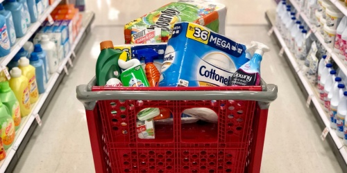 FREE $10 Target Gift Card w/ $35+ Household Essentials Purchase | Starting May 31st