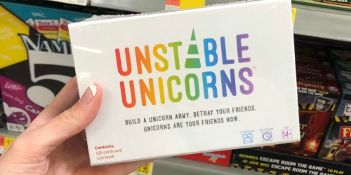 Unstable Unicorns Card Game Just $12.99 on Amazon (Regularly $20)