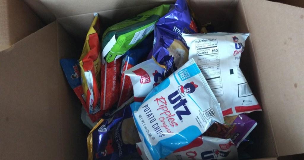utz variety pack in box