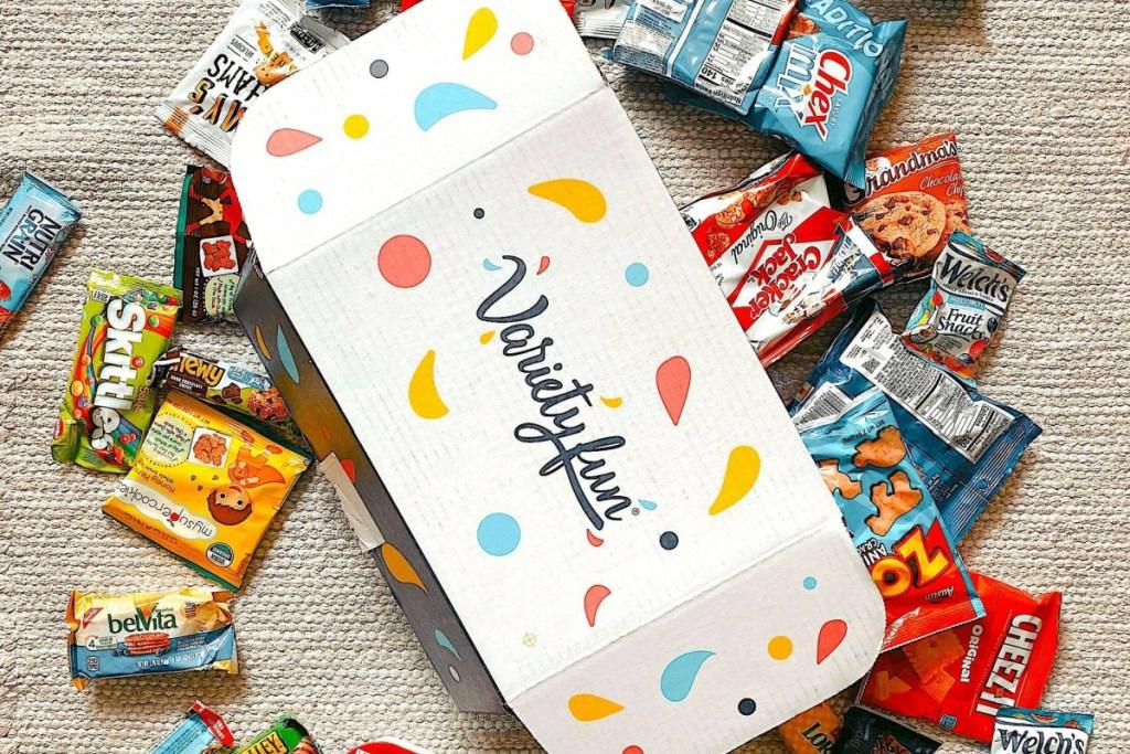 Variety Fun box with snacks