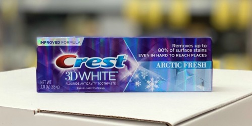 Crest Toothpastes Only 32¢ Each After Walgreens Rewards
