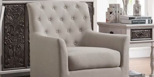 Up to 70% Off Upholstered Chairs at Wayfair