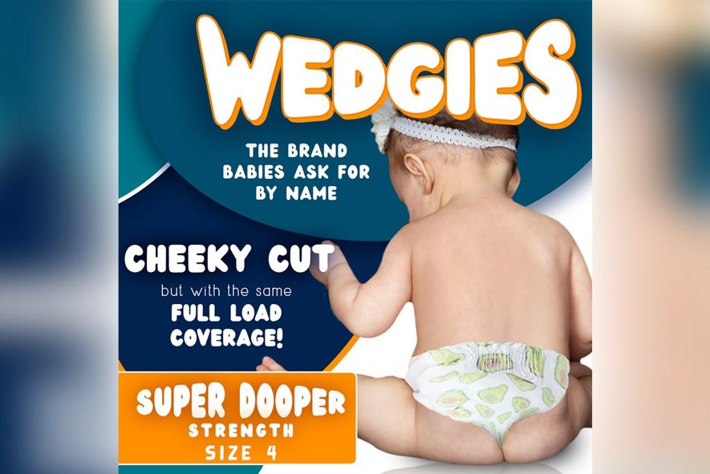 wedgies april fools diaper brand
