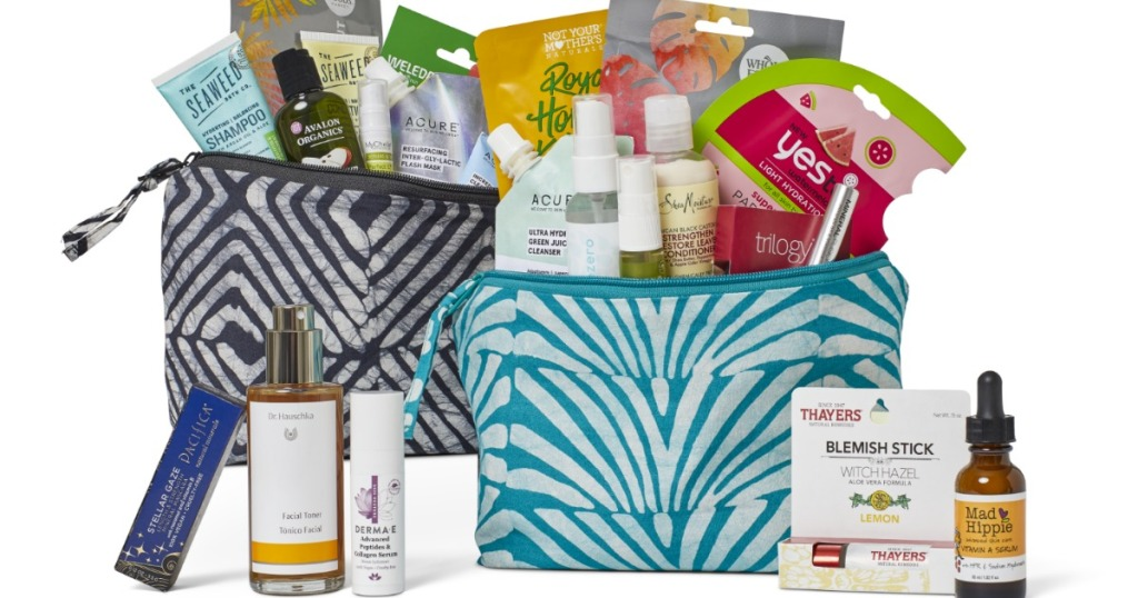 Whole Foods beauty bags