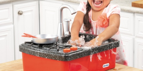 Little Tikes Splish Splash Sink & Stove Play Set Only $9.98 on Walmart (Regularly $20)
