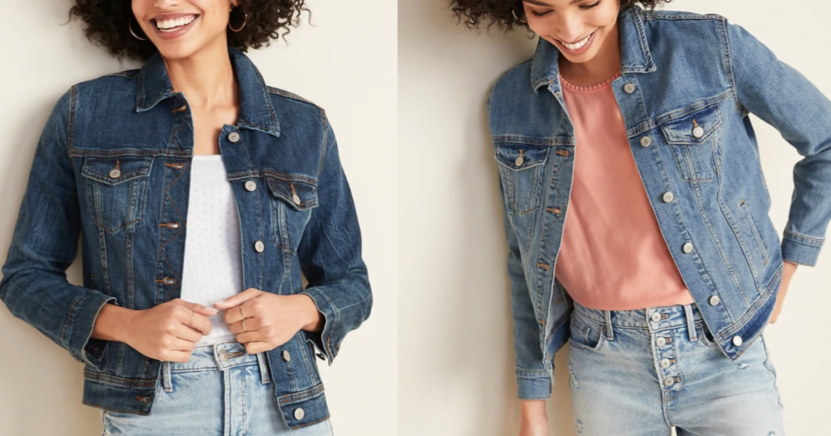 womens jean jacket old navy