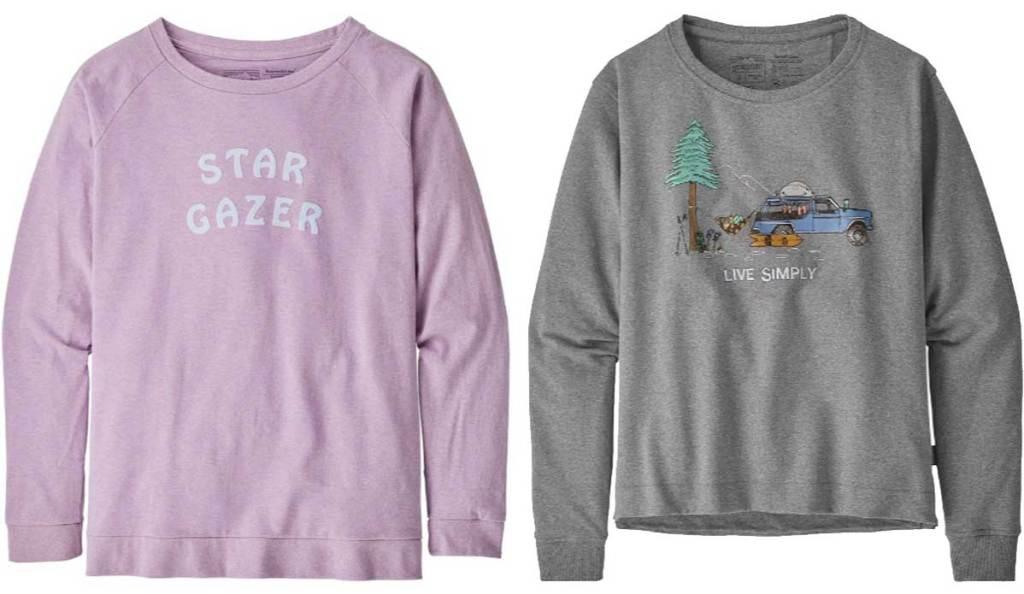 two women's sweatshirts stock images
