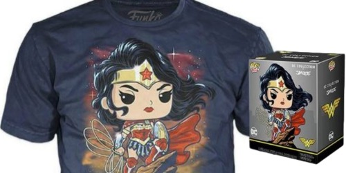 Funko POP! Figure & T-Shirt Sets Only $10 on GameStop.com (Regularly $30) | DC, Sonic & More