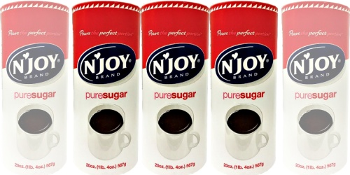 N'Joy Sugar OR Creamer Canisters 3-Pack Only $4.99 Shipped (Just $1.66 Each)