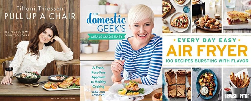 Three cookbooks Kindle eBooks