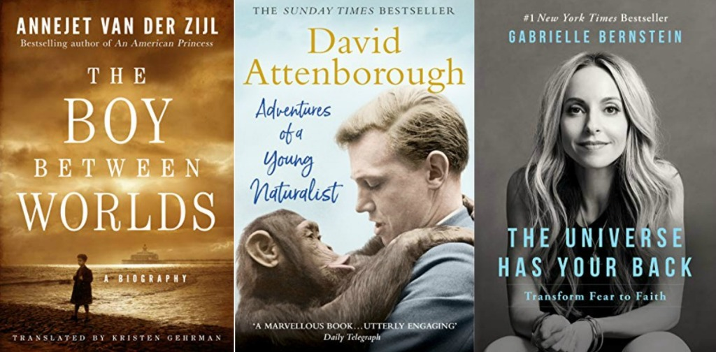 Three Amazon eBook covers
