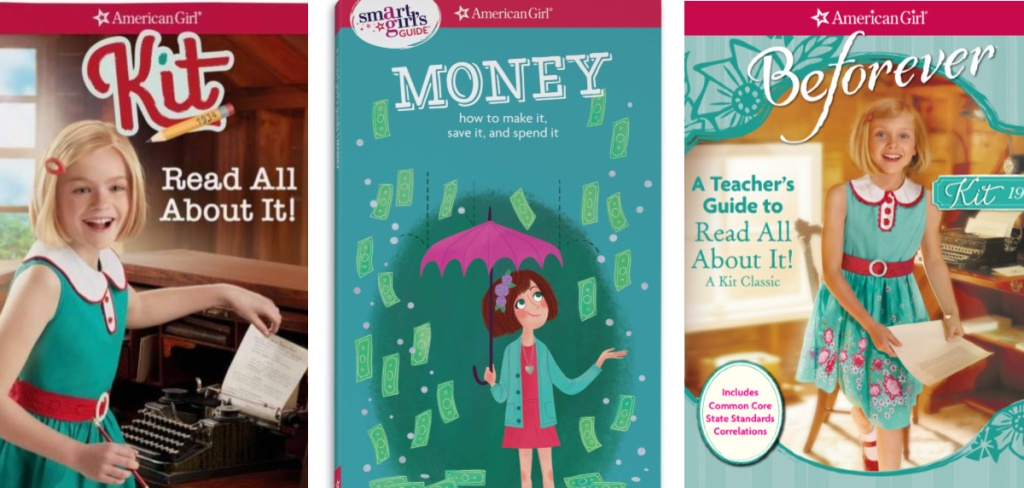 american girl book covers
