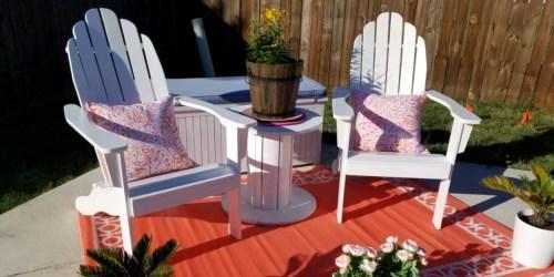World Market Adirondack Chairs Only $77.99 Shipped (Regularly $130)