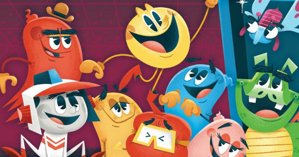 group of cartoon characters