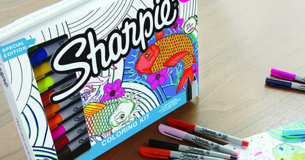 Sharpie Markers and Art Kit
