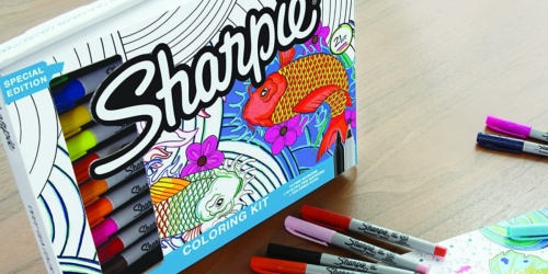 Sharpie Deep Sea Marker Collection Only $16 (Regularly $30)