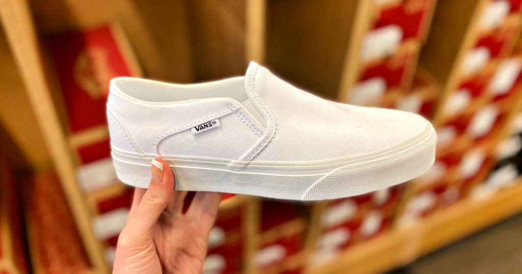 Asher Slip-On Kids' Vans Sneakers