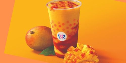 Try Baskin-Robbins' NEW Sweet & Savory Mangonada Frozen Drink