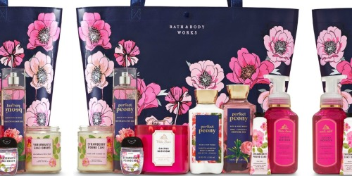Bath & Body Works Limited Edition Spring Bag Only $30 w/ $30 Purchase ($110 Value)