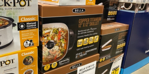 Bella Triple Slow Cooker Only $29.99 on Best Buy (Regularly $60)