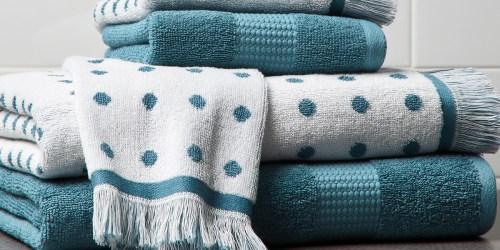 Better Homes & Gardens 6-Piece Bath Towel Set Only $14.99 on Walmart (Regularly $45)