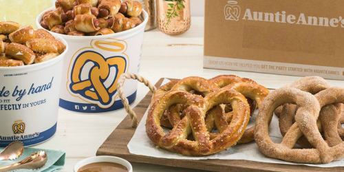 2 Auntie Anne's DIY At-Home Pretzel Kits Just $30 | Only $15 Each