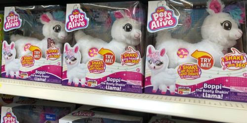 Pets Alive Booty Shakin' Llama Only $12.99 (Regularly $20)