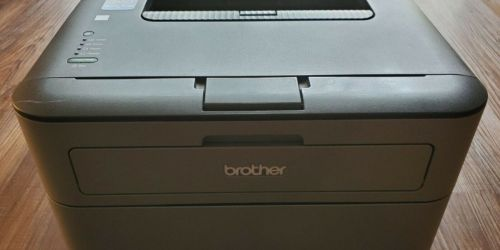 Brother Monochrome Laser Printer Only $64.99 Shipped on Staples.com (Regularly $100)