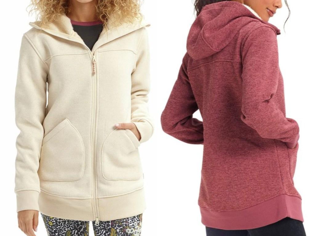 Burton Women's Minxy Hooded Fleece Jacket