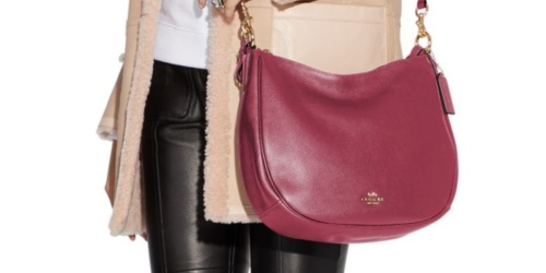 Coach Sutton Hobo Bag Only $182 Shipped on Belk.com (Regularly $325)