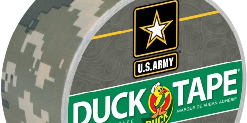 Duck Brand Camo Duct Tape Roll Only $2 on Amazon