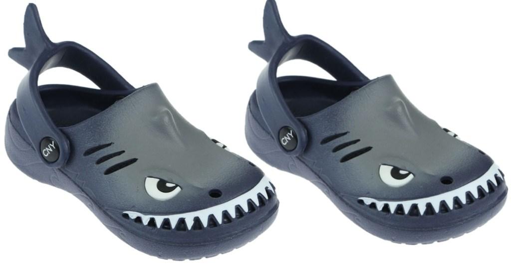 kids Capelli New York Toddler Boys Shark Clogs