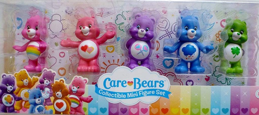 pack of 5 Care Bears