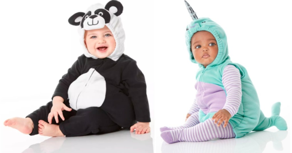 two kids wearing costumes