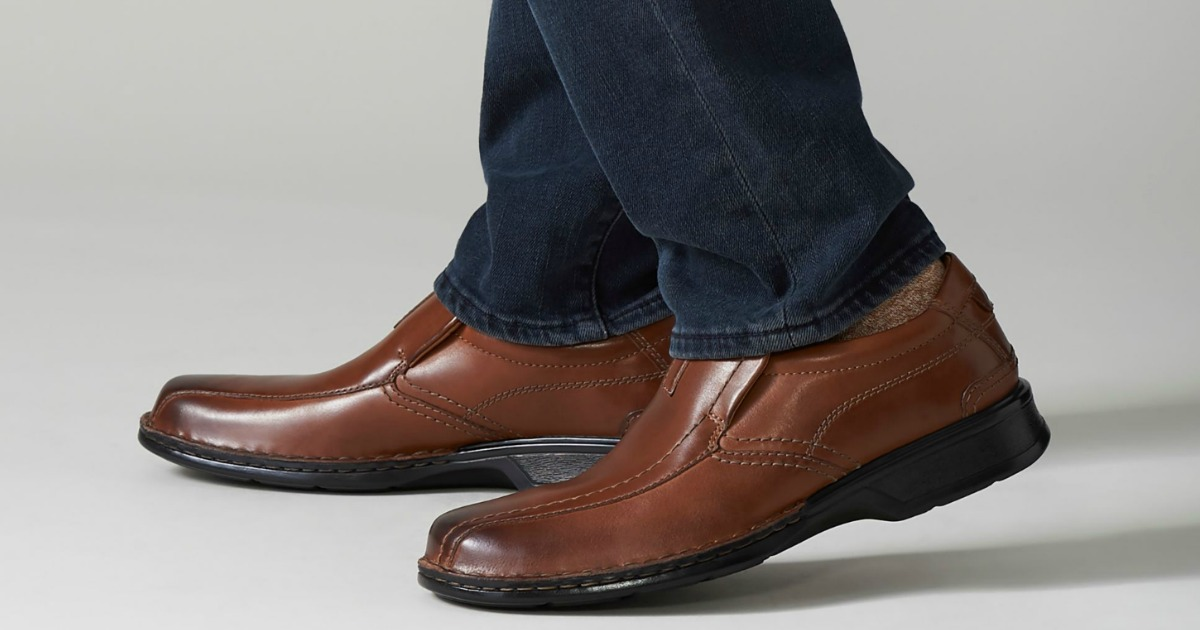 Clarks Men's Dress Shoes Only $23.60 on
