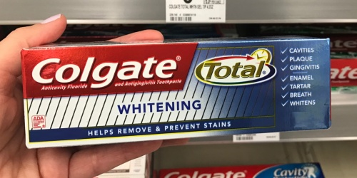 Colgate Total Whitening Toothpaste 2-Pack Only $2.38 Shipped on Amazon